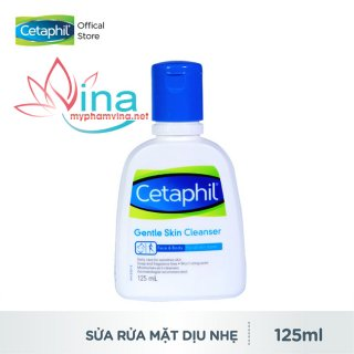 Sữa rửa mặt cetaphil gentle skin cleanser face and body 125ml