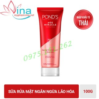 Sữa rửa mặt PONDS AGE MIRACLE CELL REGEN 100ml