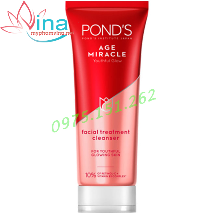 Sữa rửa mặt PONDS AGE MIRACLE CELL REGEN 100ml 2