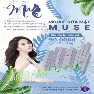 MOUSE RỬA MẶT MUSE (12 miếng)