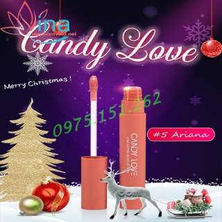 SON CANDY LOVE 05 ARIANA HỒNG SỮA - THE MUSE LIMITED 2021 2