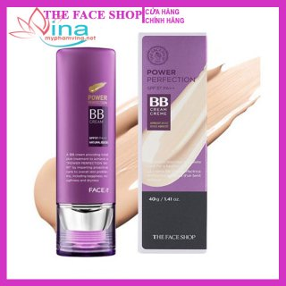 Kem Nền The Face Shop Power Perfection Bb Cream SPF37 PA++ 40m