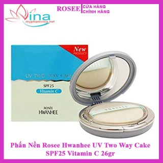 Phấn Nền Rosee Hwanhee UV Two Way Cake SPF25 Vitamin C 26GR 2